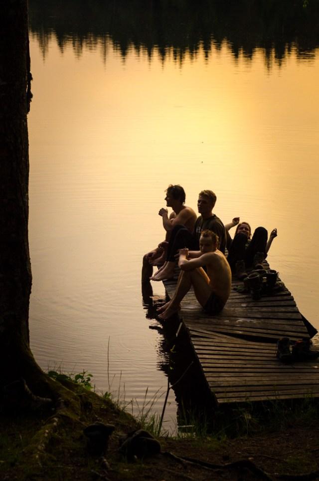 Jėgų atgavimas prie Balto ežero