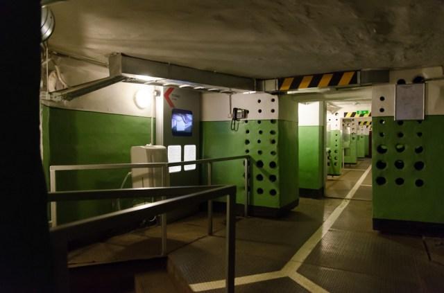 Išsišakojimas -2 aukšte prie azoto ir deguonies talpyklų patalpos