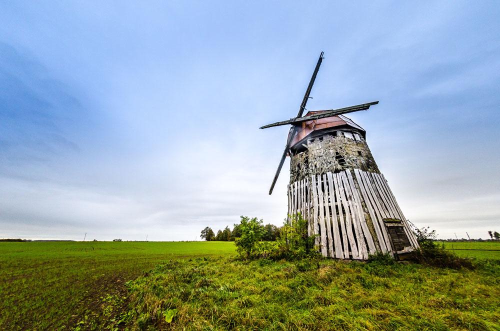 Steigvilių vėjo malūnas