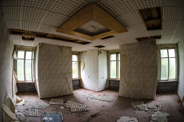 Kampinis kambarys trečiame aukšte