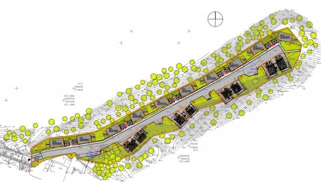 Gyvenamųjų namų komplekso statybos projektas