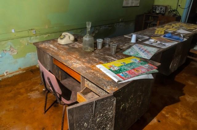 Vadavietė. Vadovo stalas