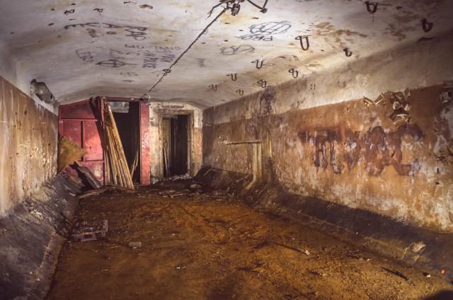Viena iš trijų (pietinė) pagrindinių slėptuvės patalpų