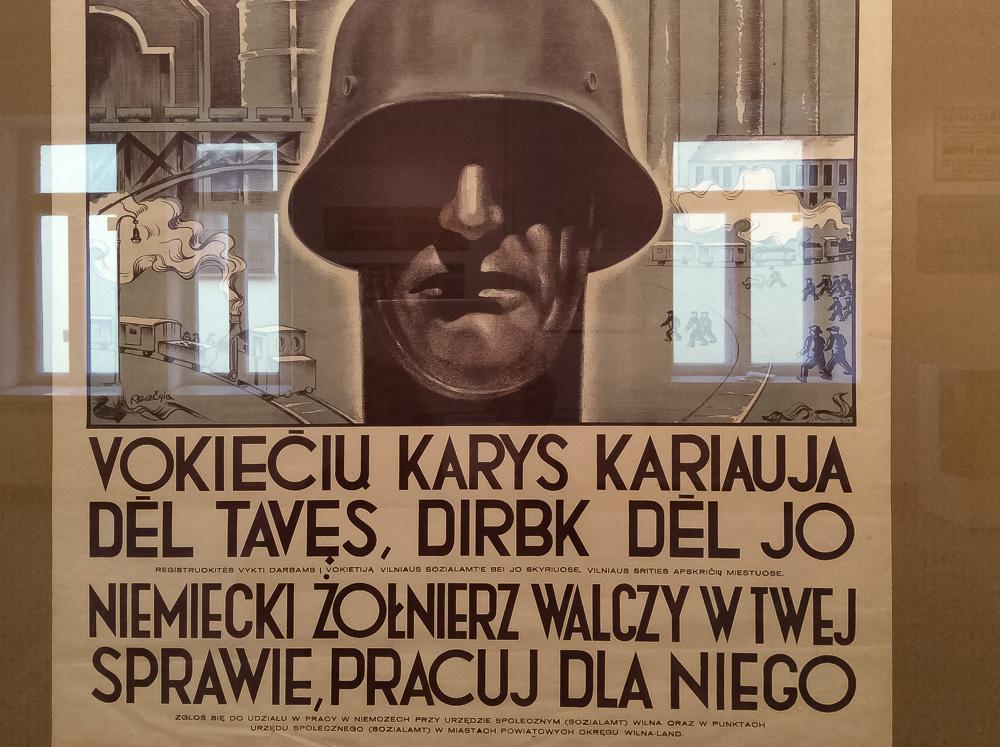 """Virtuali paroda """"I ir II pasaulinių karų Lietuvos plakatai"""""""