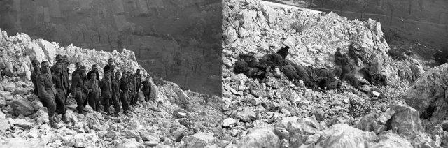 Įrodymas, kad partizanai ne pyragus kepė: jugoslavų partizanai sušaudo vokiečių karius