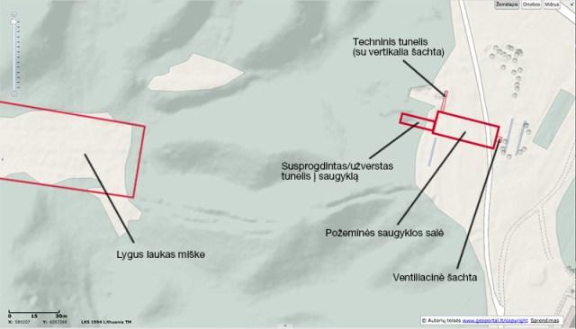 Topografinis vietovės žemėlapis