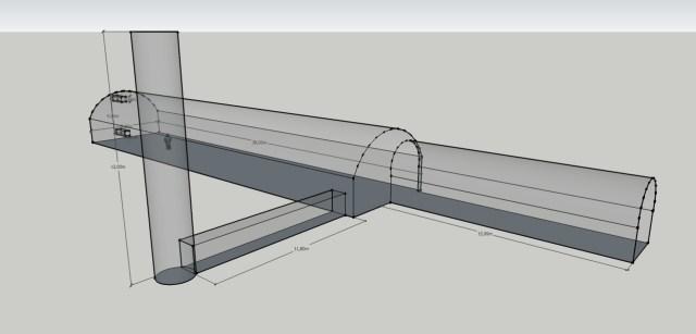 Požeminės kuro saugyklos vizualizacija