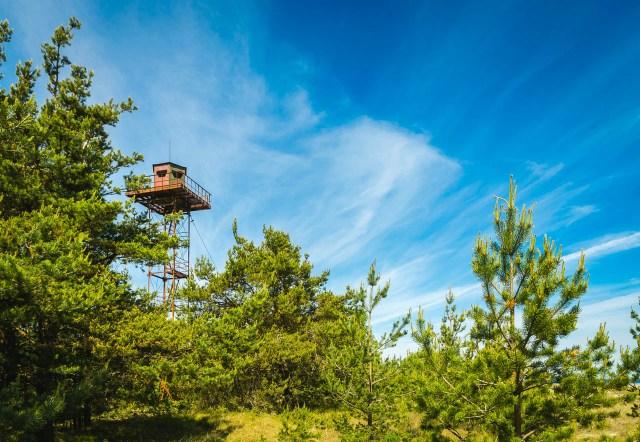 Pats mieliausias pasieniečių bokštelis - Lehtma pakrantėje