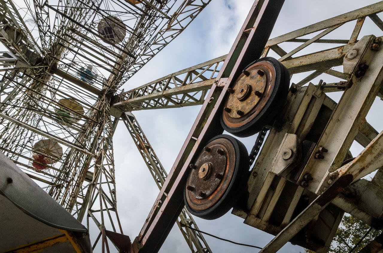Elektrėnų atrakcionų parkas. Vaikystė baigėsi…