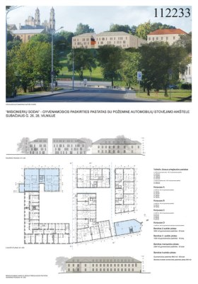 III vieta. Architektūros linija