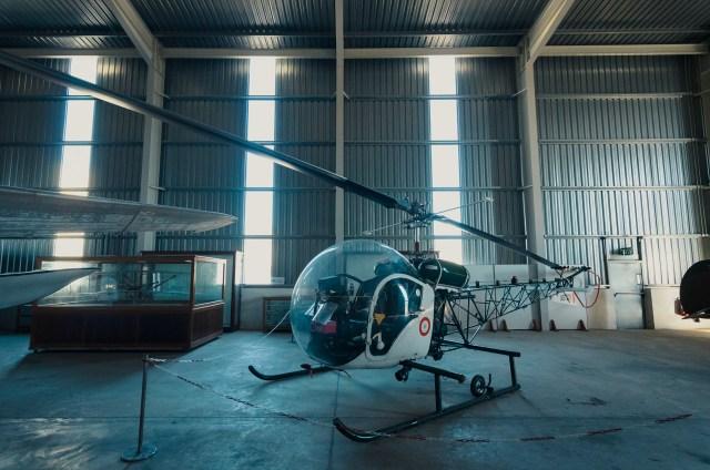 Simpatiškas Agusta Bell 47G-2