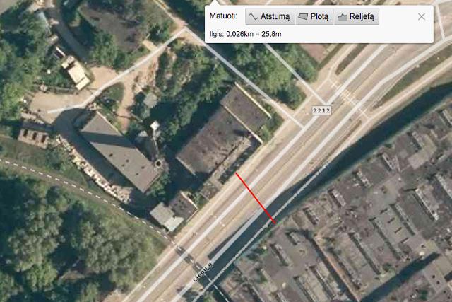 Preliminari tunelio po Liepų gatve vieta