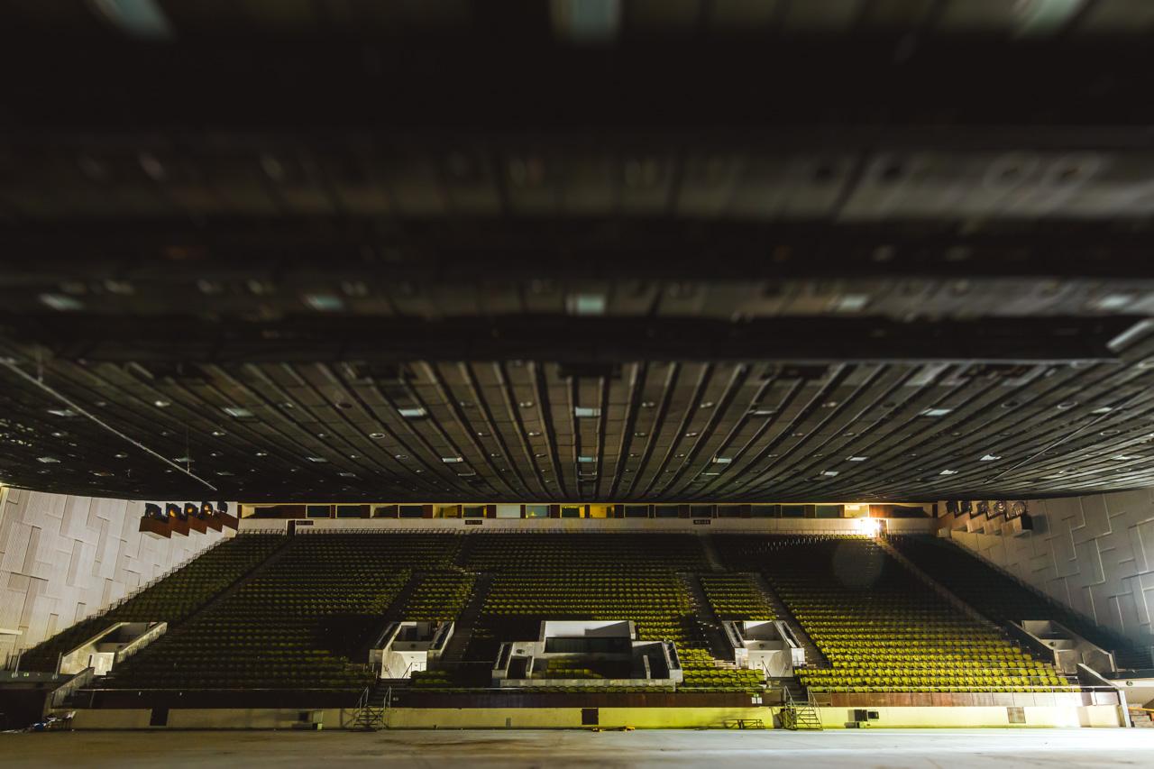 Vilniaus koncertų ir sporto rūmai. Iš arti
