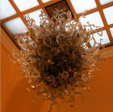 Claridges medusa chandelier