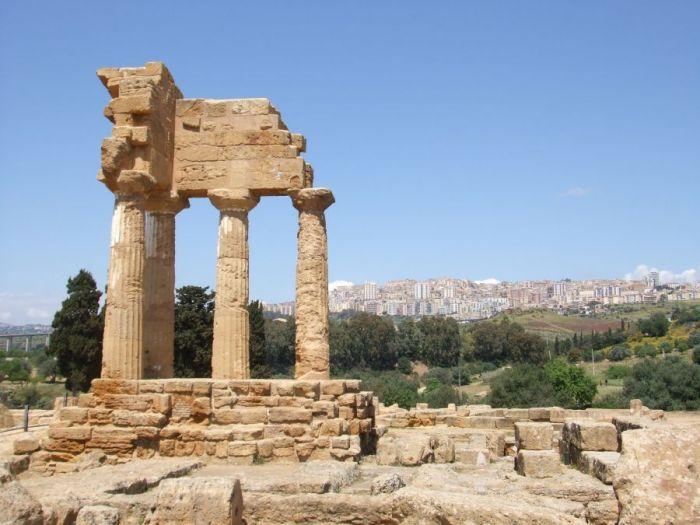 wycieczka objazdowa po Sycylii, Agrigento, Sycylia, Sicilia, Park archelogiczny w Argigento