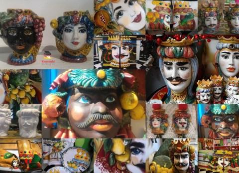 Testa di Moro, Głowa Maura, Głowa z ceramiki, Ceramika sycylijska, Ceramika z Sycylii, Sycylia, ceramika, przedmioty z ceramiki, pamiątki z Sycylii, pamiątka z Sycylii, co kupić na Sycylii, co przywieźć z Sycylii, co kupić na Sycylii, jakie pamiątki na Sycylii, souvenir z Sycylii, souvenir Sycylia, pamiątka Sycylia, pamiątki Sycylia, ceramika Caltagirone, ceramika Trapani, Giovanna Colomba, testa di Moro w modzie, symbol Sycylii, symbol Sycylia, legenda o testa di Moro, legenda o głowie Maura, legenda z Palermo, tradycja Sycylia, sycylijska tradycja