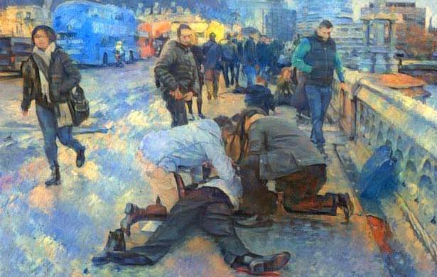 Uchodźcy w Polsce, zamach w Londynie