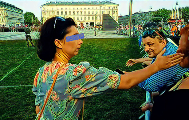 dominika arendt-wittchen spoliczkowała kobietę