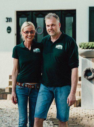 Anette und Reiner Hans Nierswalder Kuhhof, Nierswalder Kuhhof-Team
