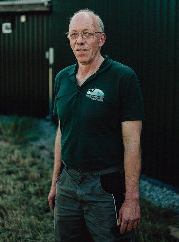 Anton, gelernter Landwirt am Nierswalder Kuhhof