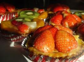 Verschillende aantrekkelijke gebakjes, copyright Leon McGuire
