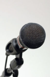 Microfoon, copyright Acuzio