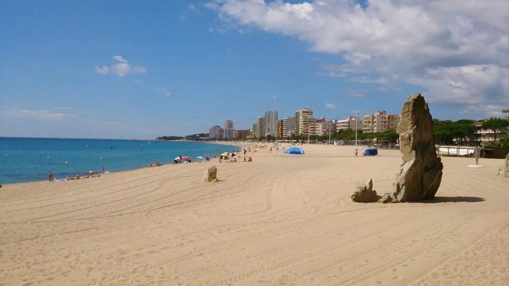 Tips Platja d'Aro: strand