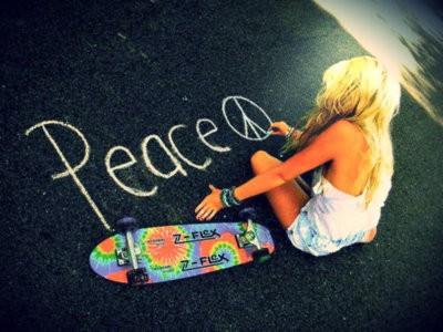 vrede peace meisje 250x187 Het zevende karmische patroon: schuld (of schaamte)