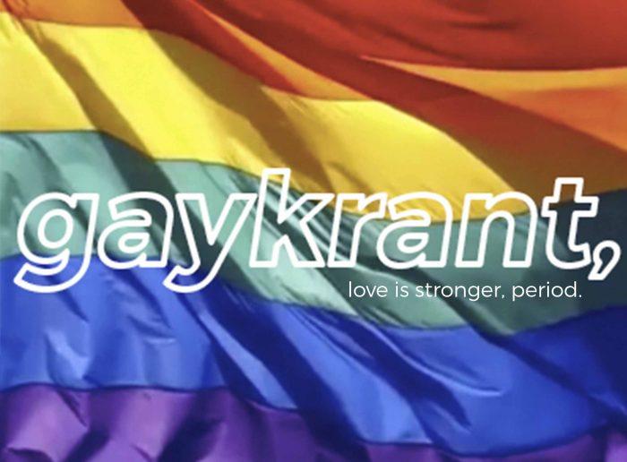 Afbeeldingsresultaat voor gaykrant logo