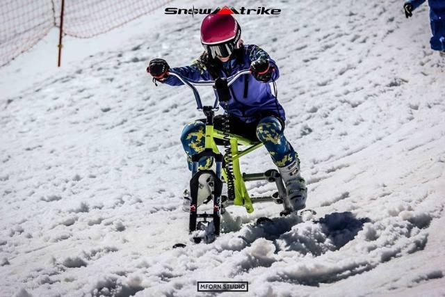 La modalidad permitirá disfrutar de la velocidad sobre la nieve desde el primer día