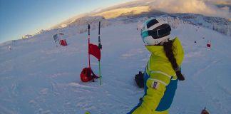 Núria Pau y Júlia Bargalló ya están en Funasdalen para disputar su primera carrera de la temporada FOTO: RFEDI