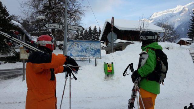 El área de Isenau, en Les Diablerets abre un esquí muy familiar