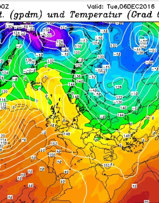 prevision temperaturas 6-12-16