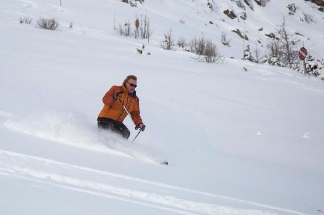 Esquiando en Lake Louise - 18/11/16