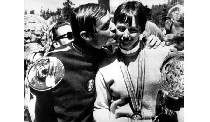 La canadiense Nancy Green y el francés Jean-Claude Killy fueron los ganadores de la primera edición de la Copa del Mundo