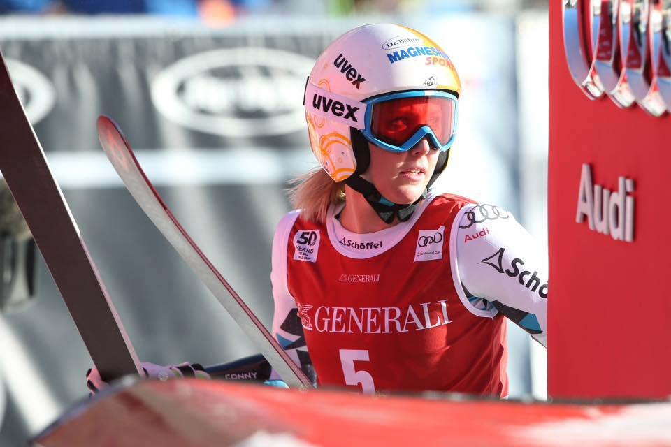 Cornelia Huetter, adiós a la temporada tras romperse el ligamento cruzado anterior de la rodilla derecha FOTO: Facebook Cornelia Huetter