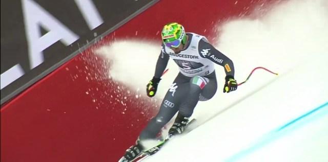 Dominik Paris ha finalizado cuarto FOTO: Eurosport