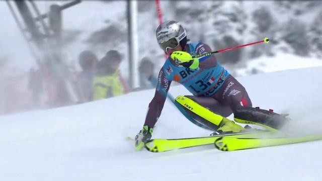 Julien Lizeroux ha sido el más rápido en la segunda manga pero hipotecado por la primera. Al final ha sido quinto FOTO: Eurosport