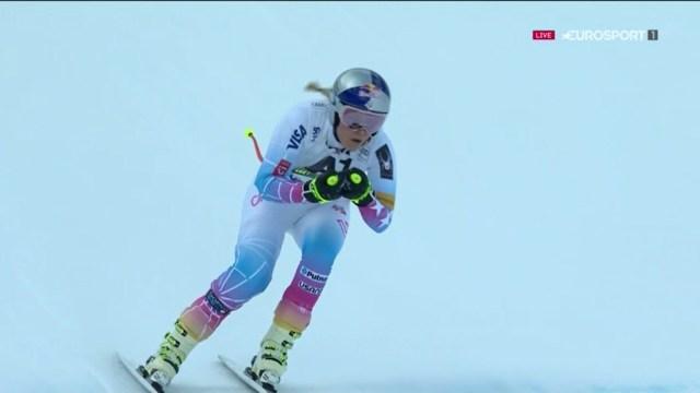 Lindsey Vonn reapareció para acabar decimotercera FOTO: Eurosport