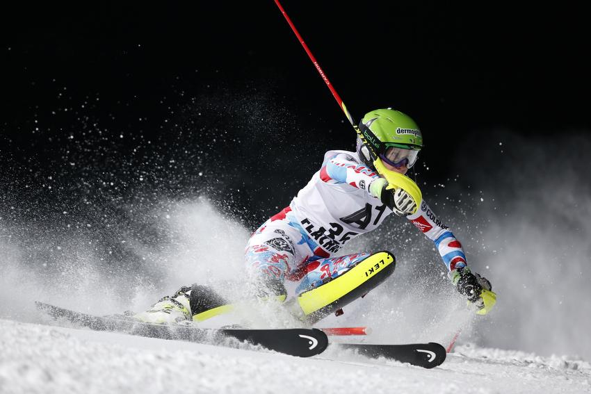 Una rotura del ligamento de la rodilla derecha impedirá a Taina Bairoz competir en lo que queda de temporada FOTO: www.tainabarioz.com