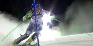 Veronika Velez Zuzulova ha ganado el slalom de Zagreb después de tres segundos puestos consecutivos en la disciplina FOTO: Eurosport