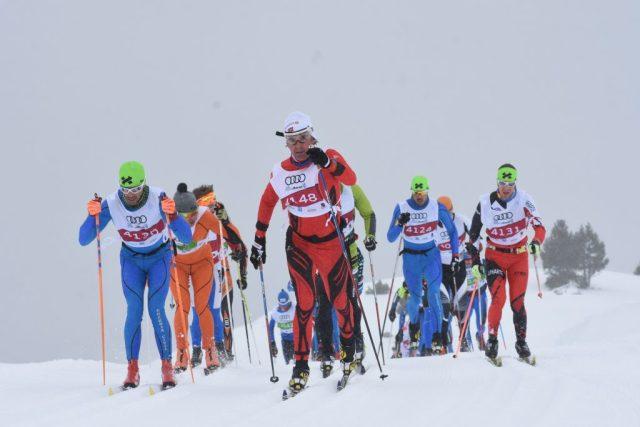 El domingo la Marxa Beret concentró a 900 fondistas en la gran fiesta del esquí nórdico del Valle de Arán FOTO: Prensa Baqueira