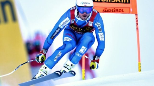 Kjetil Jansrud buscará en St Moritz su primer oro mundialista FOTO: Eurosport