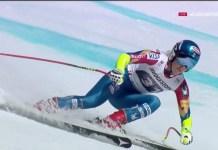 Mikaela Shiffrin ha ganado su primera combinada de Copa del Mundo hoy en Crans Montana FOTO: Eurosport
