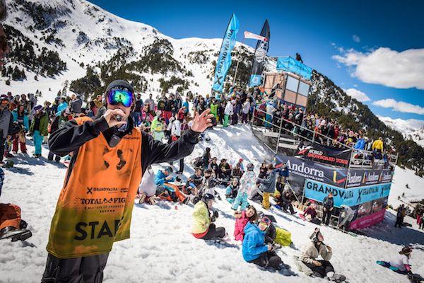 El fin de semana es el turno del snowboard, mientras que el siguiente tomará el relevo el freeski