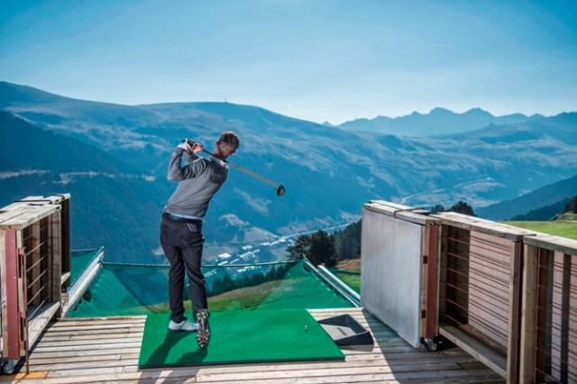El golf de Soldeu es el más alto de Europa
