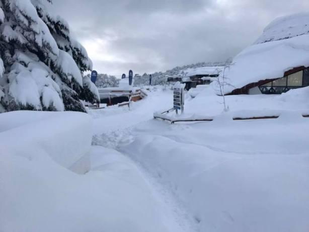 La nieve de Cerro Chapelco hace las delicias a los amantes del power