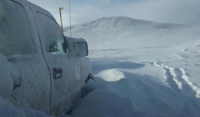 La familia de Neuquén (Argentina) quedó atrapada en la nieve