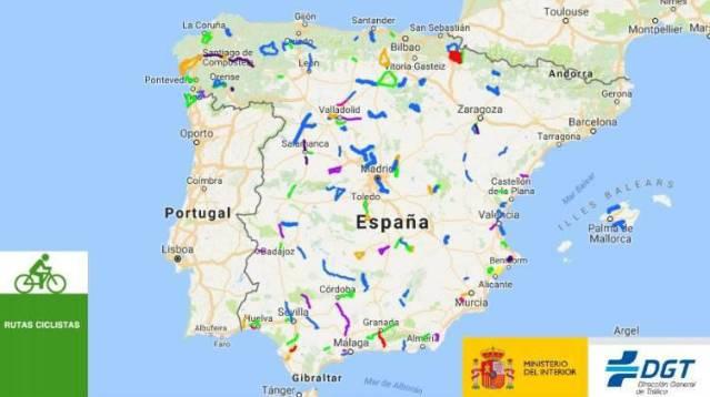 Tráfico propone tres vías protegidas para los ciclistas