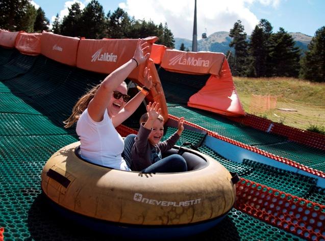 La Molina sigue siendo foco de atracción para el público durante la temporada de verano
